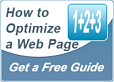 how to optimize a web page - content creation