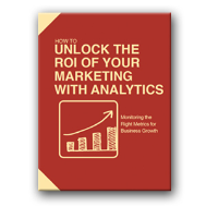 marketing plan example - analytics