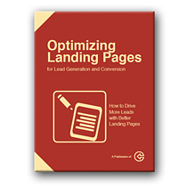 developing a marketing plan - optimizing a landing page